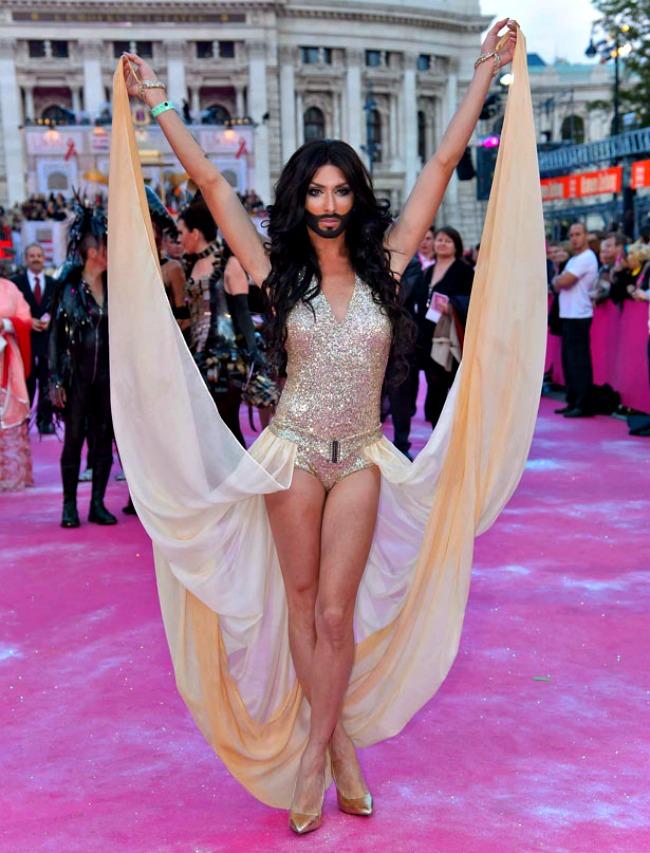 Conchita Wurst Life Ball Reagovanja: Svako čudo za tri dana...