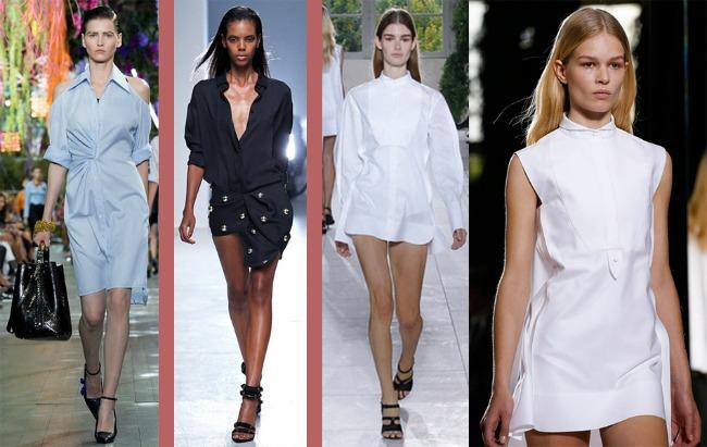 Dior AVacarrello Balenciaga Šta kaže catwalk: Sva njena lica – slučaj košulja!