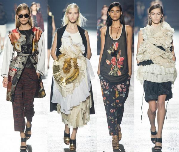 Dries Van Noten Šta kaže catwalk: Moda i geografija