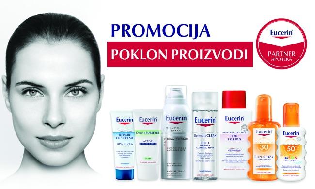 Eucerin promocija Lepa i zdrava: Negujte lice Eucerinom