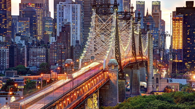 Evening view New York Beautiful HD Wallpaper Put oko sveta: I najbolja zemlja za život je...