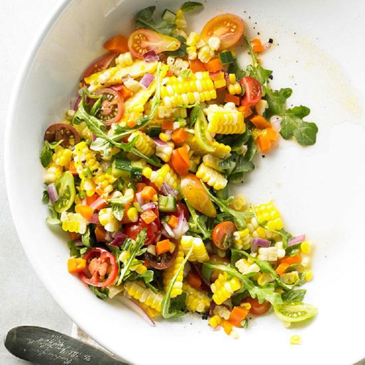 Fresh Corn Salad Prste da poližeš: Lagane letnje salate