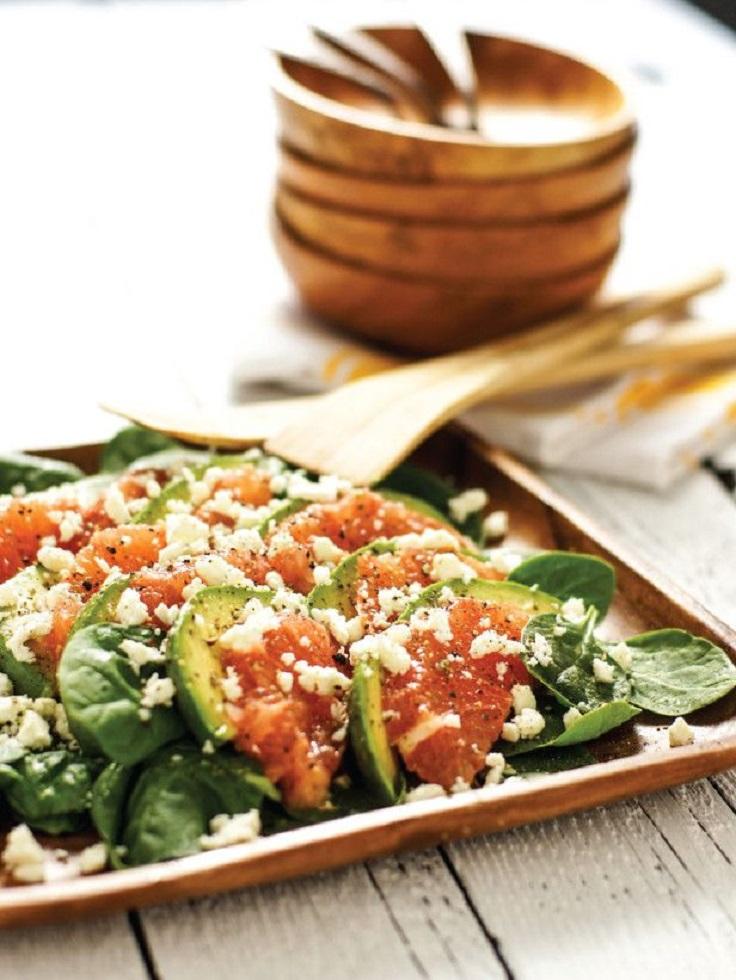 Fresh and Light Summer Salad with Spinach Avocado and Grapefruit Prste da poližeš: Lagane letnje salate