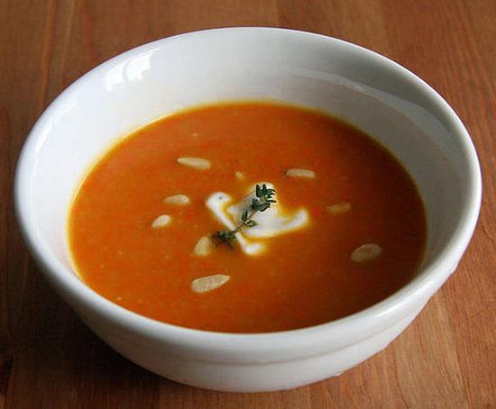 Ginger Carrot Soup Brzo, a zdravo: Prolećni ručak