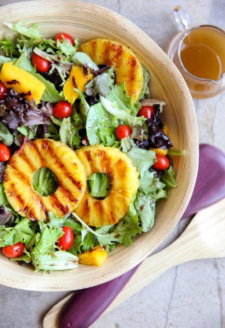 Grilled Tropical Summer Salad Prste da poližeš: Lagane letnje salate