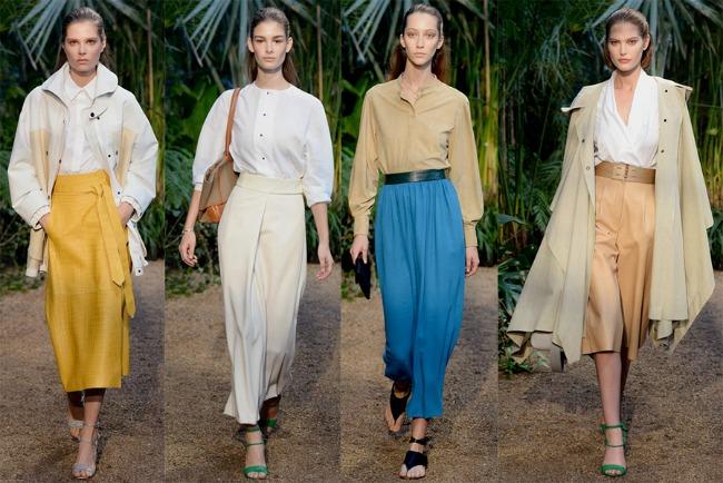 Hermès Šta kaže catwalk: Sva njena lica – slučaj košulja!