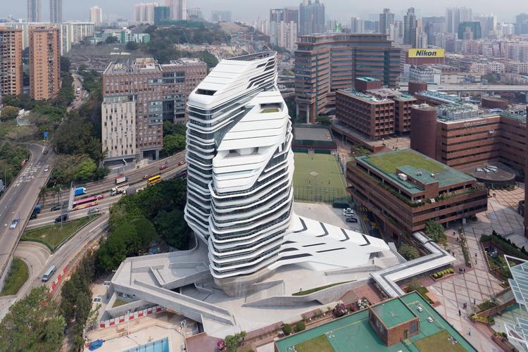 Jockey Club Zaha Hadid 15 Moderna arhitektura: Staklena kula u Hong Kongu