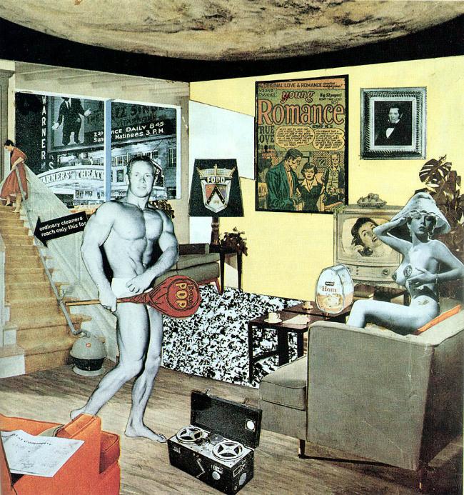 Just What Is It That Makes Todays Home So Different So Appealing U fokusu: Ričard Hamilton, otac britanskog pop arta