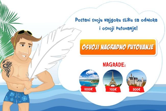 Landing page sajt v1 Produžen nagradni konkurs na sajtu MojOdmor.rs!