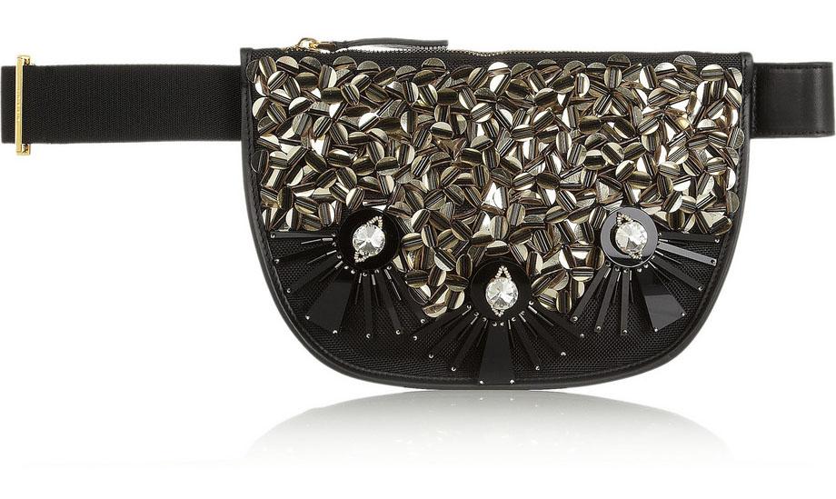 Marni Embellished Mesh Belt Bag Modiranje danas: Ponovo se nose pederuše
