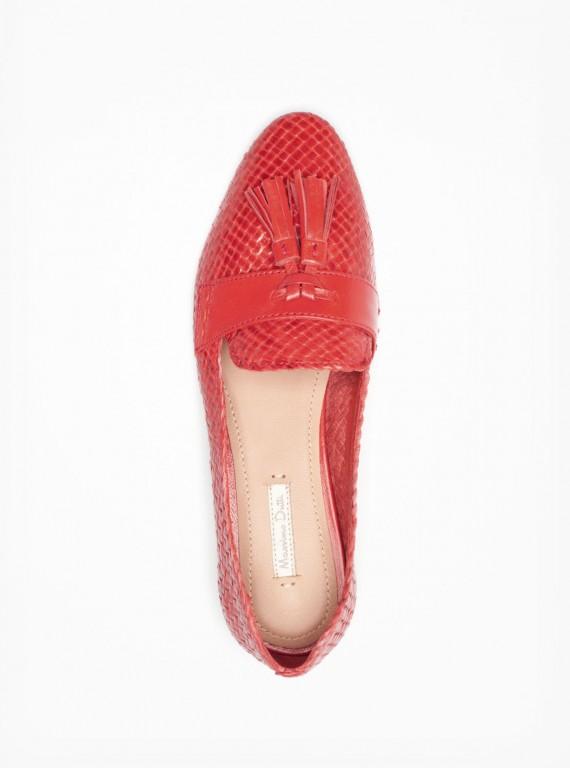 Massimo Dutti coral plaited slipper Modni trend: Mokasine
