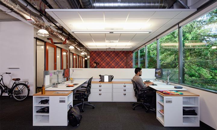Microsoft offices by OA Redmond 05 Najkul kancelarije sveta: Microsoftova zgrada 4!