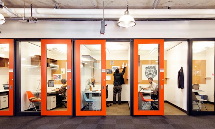 Microsoft offices by OA Redmond 09 Najkul kancelarije sveta: Microsoftova zgrada 4!