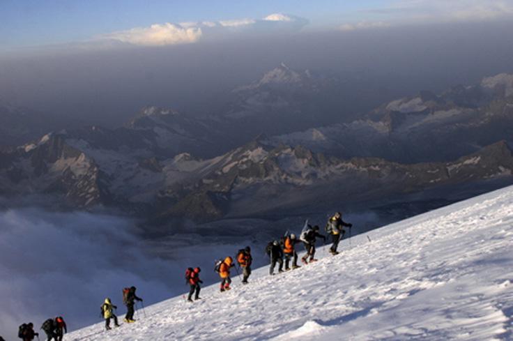 Mount Elbrus Russia Avanturistički duh: Planine na koje se morate popeti