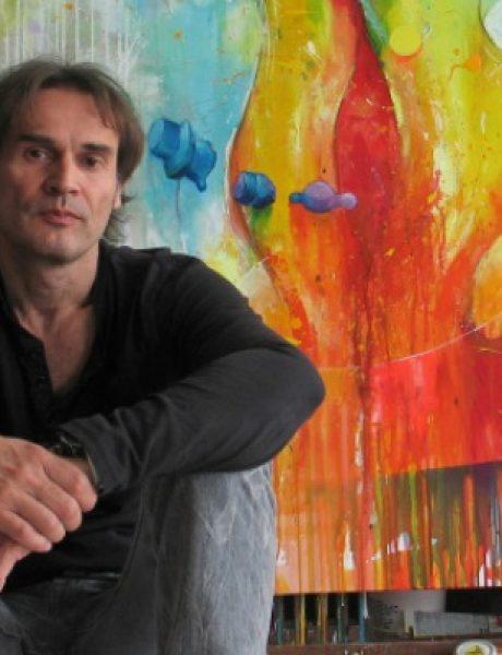 "Vreme je za umetnost: Izložba slika Steve Mandića – ""Turbulencija"""
