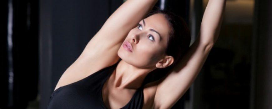 Reebok fitnes dnevnik Katarine Vučetić: Vežbe u teretani u udobnoj garderobi