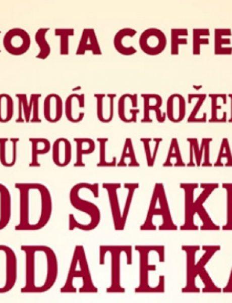 """""""Costa Coffee"""" akcija: Od svake prodate kafe 10 dinara za ugrožene"""