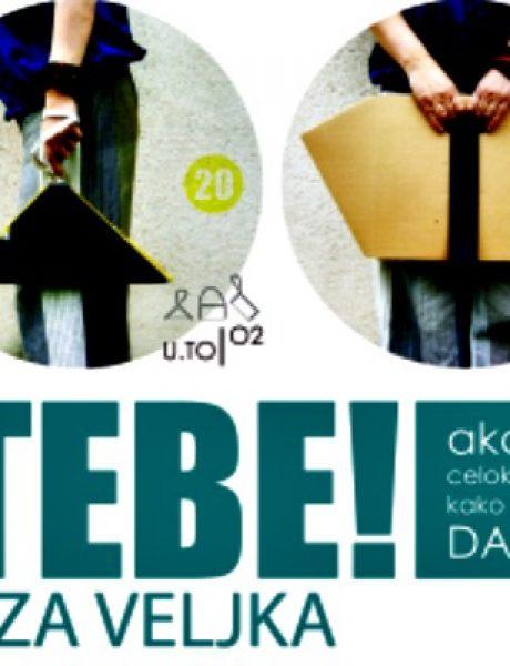 "Akcija ""Kupi torbu – pokloni sebi, pomozi Veljku"""