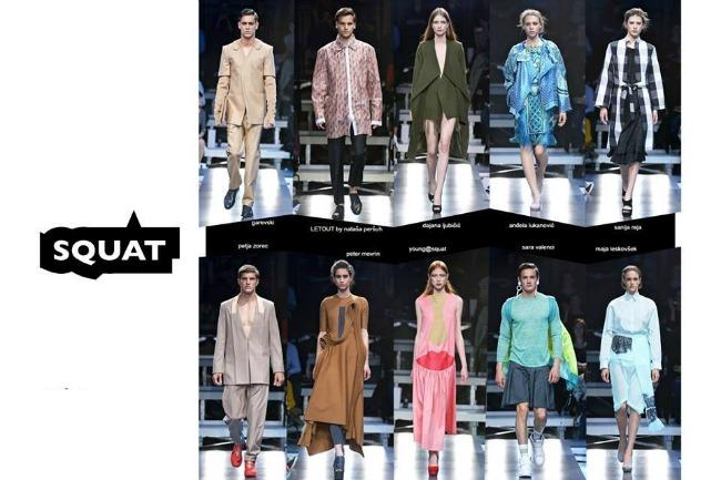 SQUAT Moda u službi humanosti: IV Belgrade Alternative Fashion Event