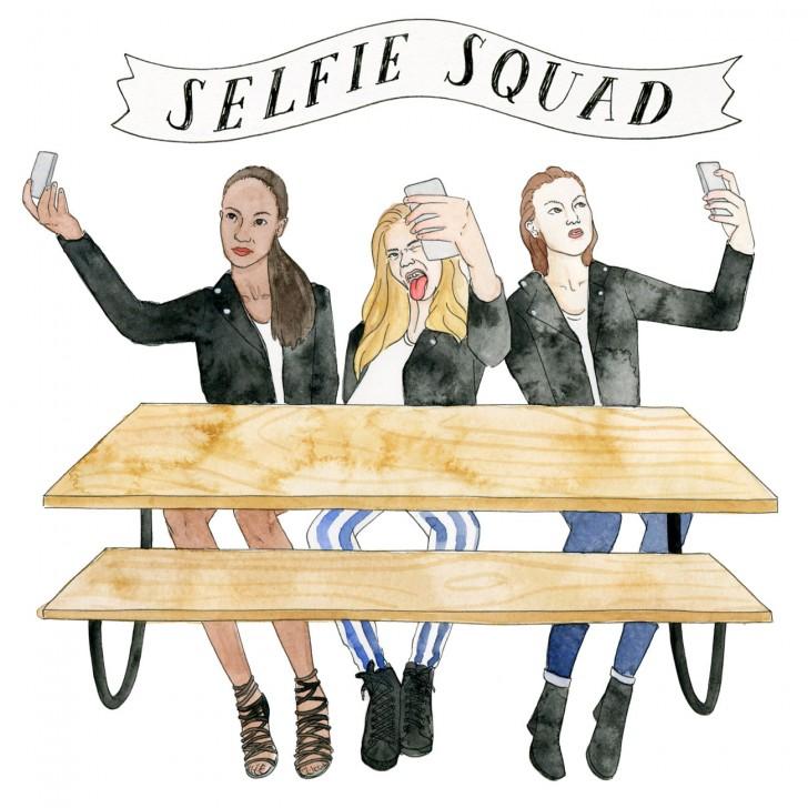STEPHENSON COVERTEUR MEANGIRLS SELFIESQUAD 728x728 Zle devojke mode: Za njihovim stolom ne možete sedeti