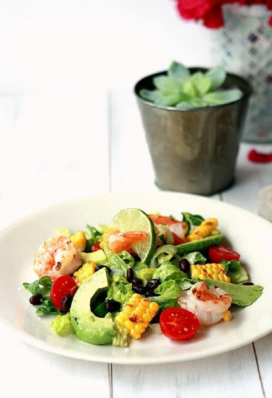 Shrimp Avocado Corn Salad Prste da poližeš: Lagane letnje salate
