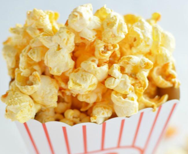 Spicy Buffalo Popcorn Recipe 55 Fitnes meni: Vitaminski petak