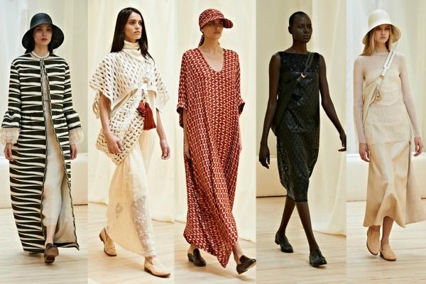 The Row Šta kaže catwalk: Moda i geografija