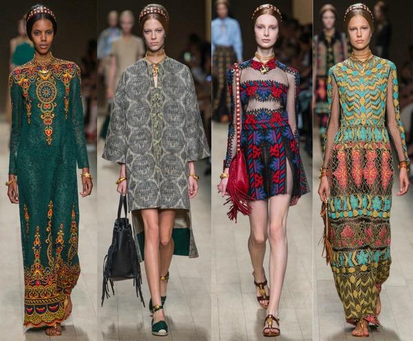 Valentino Šta kaže catwalk: Moda i geografija
