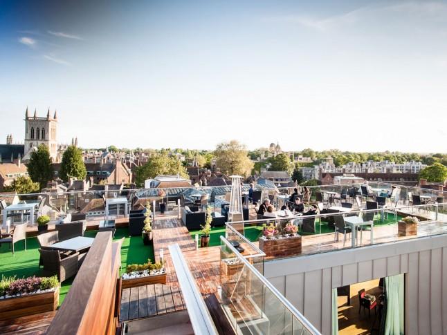 Varsity Hotel Spa Vreme za predah: Barovi na krovu