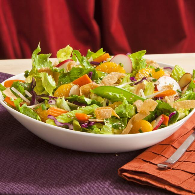 Very Veggie Asian Salad Fitnes meni: Vegetarijanski ponedeljak