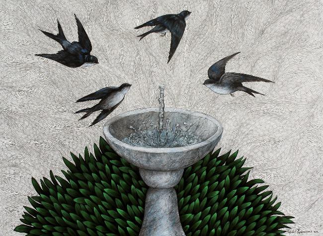 Vojislav Radovanovic Fountain Belgrade Open Art BOA