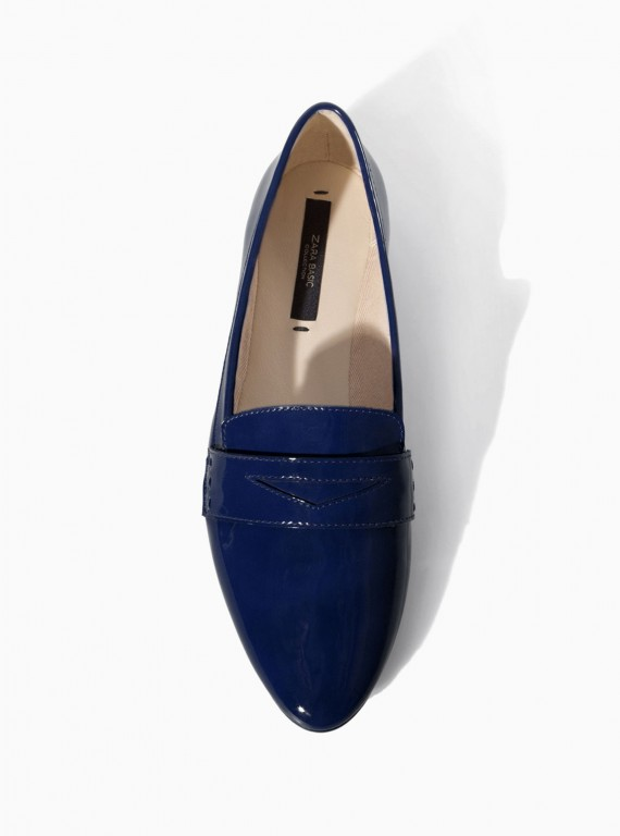 Zara soft slipper Modni trend: Mokasine