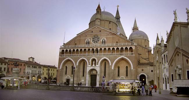 bazilika sv. ante Moja sledeća destinacija: Padova