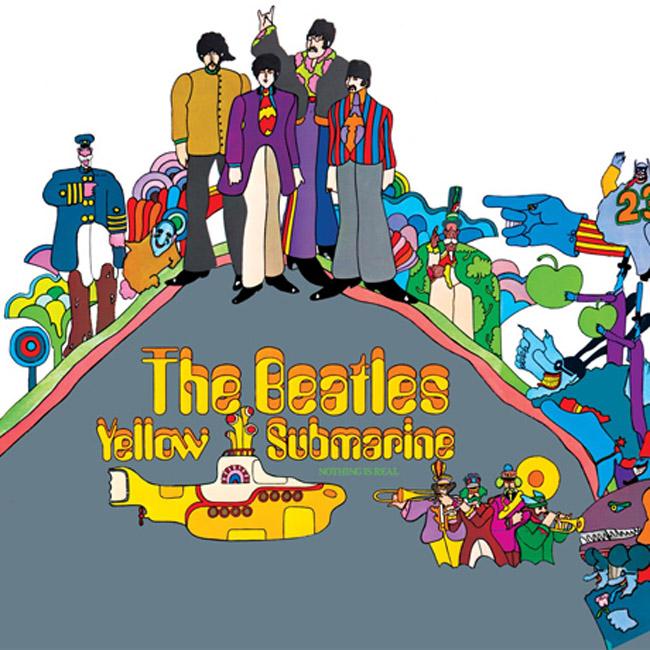 beatles yellow submarine cover art Office Shoes predlaže: Nove Vansice ispirisane Bitlsima