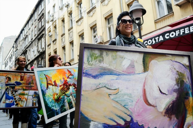 boa setnja 2013 2 Belgrade Open Art BOA