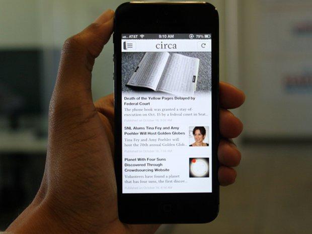 circa reinvents how we consume news on our smartphones Virtuelni svet: Aplikacije za iPhone koje moraš skinuti