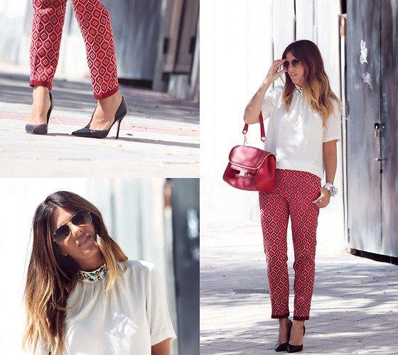 embedded capris casual outfit Kako da nosite: Kapri pantalone