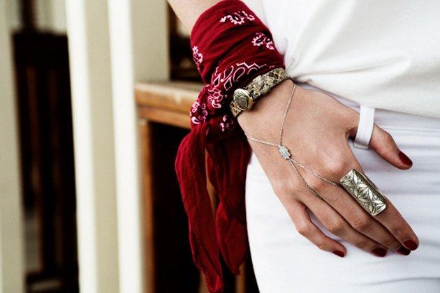 embedded wrist bandana Trend alarm: Bandana na sedam načina