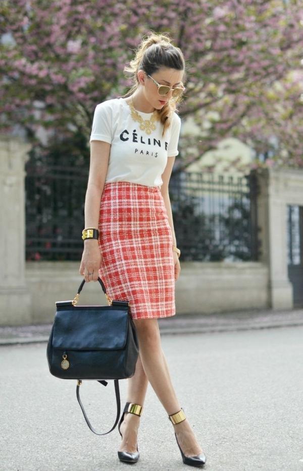 i2m18p4h Modni trend: Pencil suknje sa printom