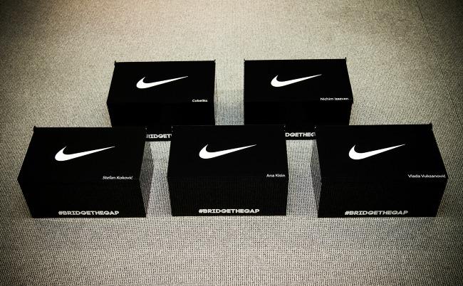 kutije1 Nike okupio novu generaciju gradskih trkača
