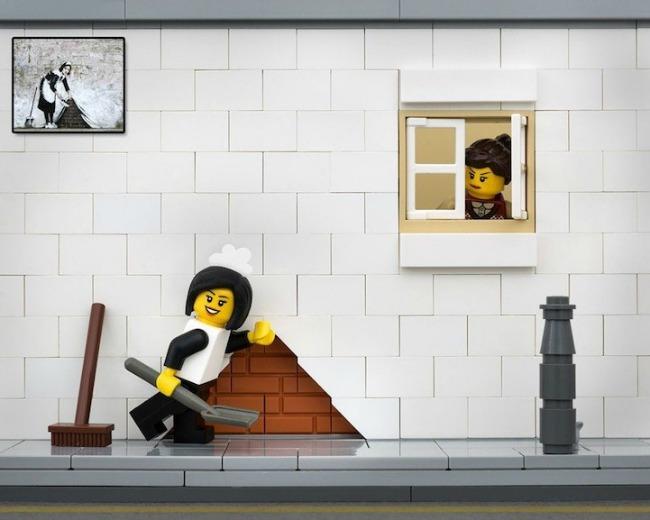 legobanksy01 934x Z kao zanimljivost: Kocka do kocke... lego kockica!