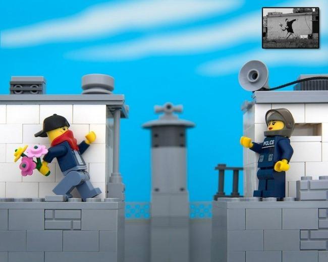 legobanksy03 934x Z kao zanimljivost: Kocka do kocke... lego kockica!