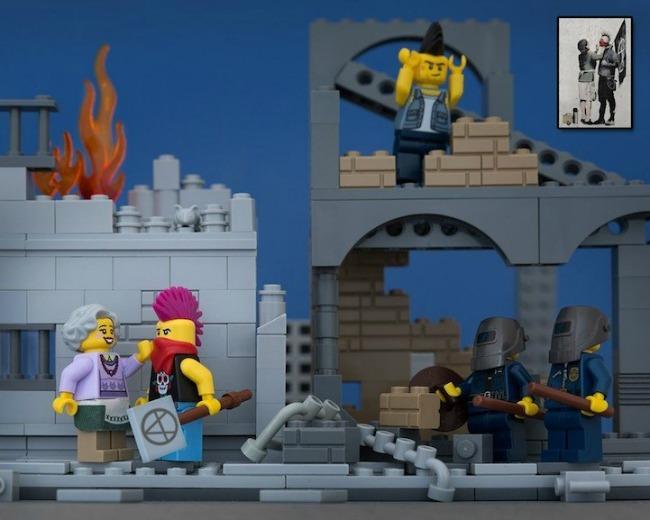 legobanksy04 934x Z kao zanimljivost: Kocka do kocke... lego kockica!