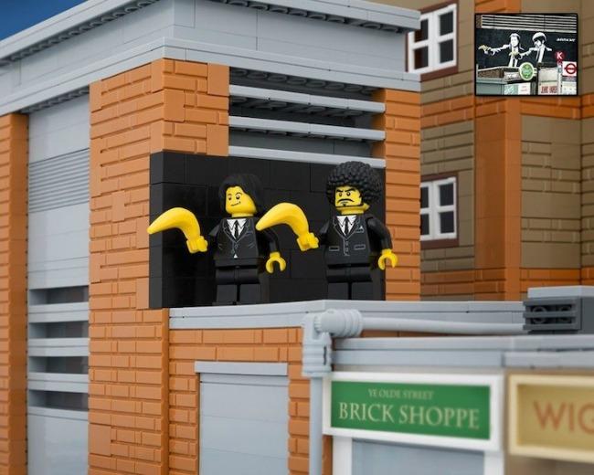 legobanksy05 934x Z kao zanimljivost: Kocka do kocke... lego kockica!