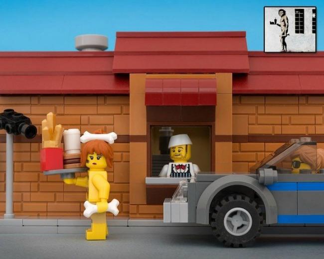 legobanksy08 934x Z kao zanimljivost: Kocka do kocke... lego kockica!