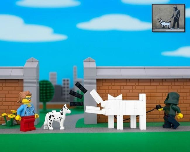 legobanksy09 934x Z kao zanimljivost: Kocka do kocke... lego kockica!