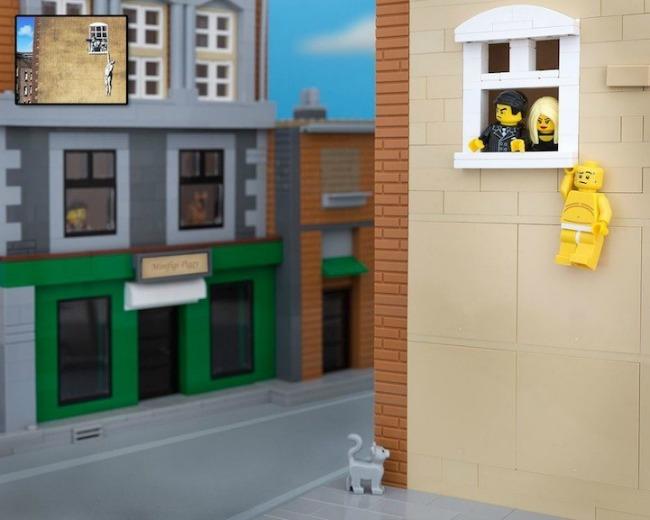 legobanksy10 934x Z kao zanimljivost: Kocka do kocke... lego kockica!