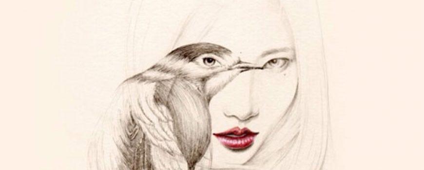 Ilustracije koje volimo: Sanjarenje i devojka-ptica