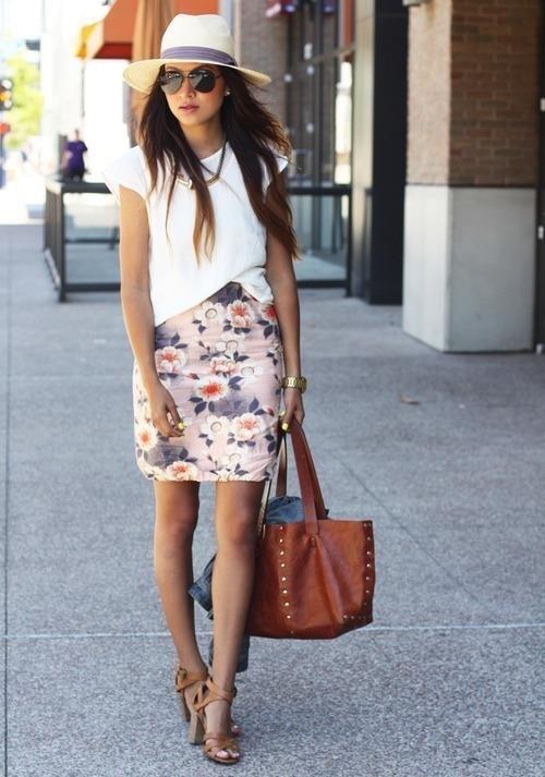 mchl696u Modni trend: Pencil suknje sa printom