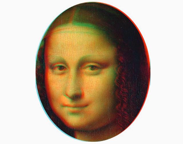 mona 818 Umetnost je kul: Mona Liza je prva 3D slika u istoriji
